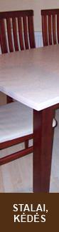 stalai, kėdės